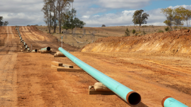Photo of Atlas pipeline completed